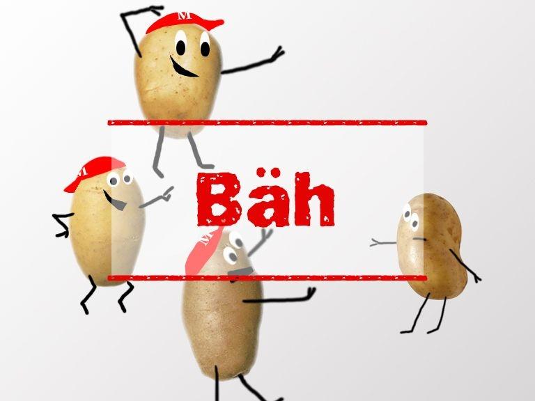 Kartoffel-Maskottchen von mobbing-schluss-damit.de
