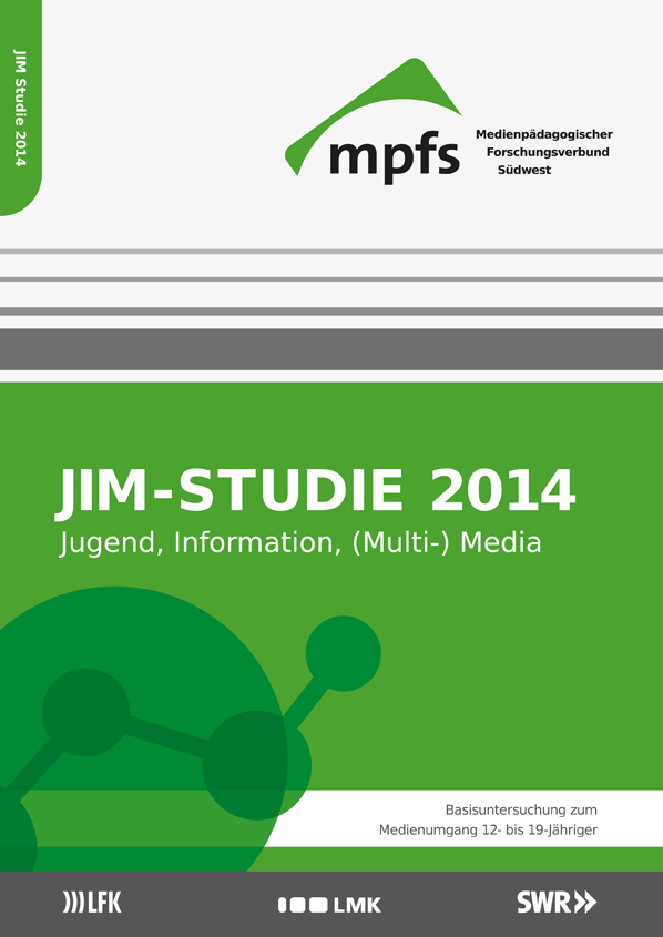 Cover JIM-Studie 2014 vom mpfs