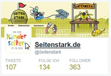 Twitter-Account Seitenstark