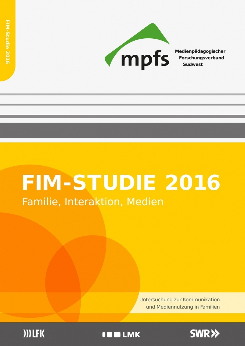 Cover FIM-Studie 2016, mpfs