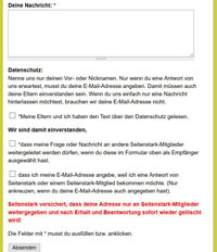 Screenshot www.seitenstark.de