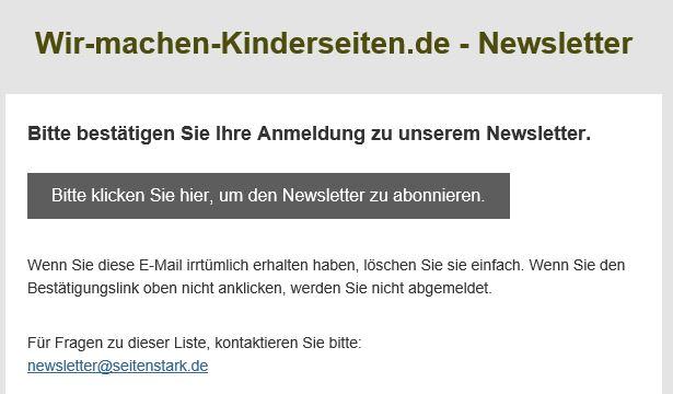 fed2349dba4d Newsletter | Wir machen Kinderseiten - Seitenstark.de