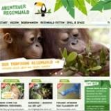 Screenshot www.abenteuer-regenwald.de