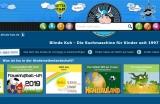 Screenshot Startseite www.blinde-kuh.de