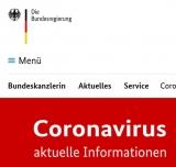 Screenshot www.bundesregierung.de