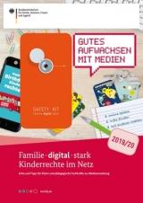 """Cover """"Familie - digital - stark - Kinderrechte im Netz"""""""
