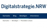 Screenshot www.digitalstrategie.nrw