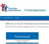 Screenshot foerderfonds.dkhw.de