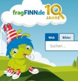 Screenshot www.fragfinn.de