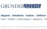 Screenshot www.gruenderszene.de