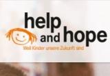 Ausschnitt Screenshot www.helpandhope-stiftung.com