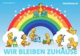 Regenbogen gegen Corona von klassewasser.de