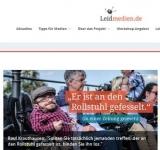 Screenshot http://leidmedien.de/