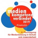 """Screenshot Flyer der Fachtagung """"Medienkompetenz verbindet 2019."""""""