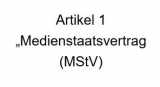 Screenshot Entwurf Medienstaatsvertrag