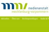 Screenshot www.medienanstalt-mv.de