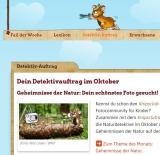 Screenshot naturdetektive.de