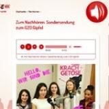 Screenshot http://radiofuechse.de/