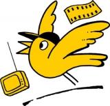 Logo Goldener Spatz