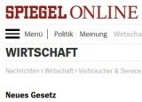 Screenshot www.spiegel.de