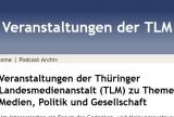 Screenshot podcast.tlm.de