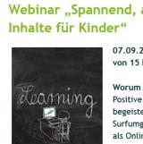 Screenshot http://www.klicksafe.de