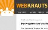 Screenshot http://webkrauts.de