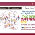 Screenshot http://www.bmfsfj.de