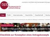 Screenshot www.bpb.de