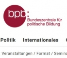 Screenshot www.bpb.de