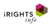 Screenshot irights.info