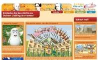 Screenshot Startseite junge-klassik.de