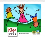 Screenshot kidspods.de