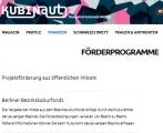 Screenshot http://www.kubinaut.de