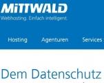 Screenshot https://www.mittwald.de