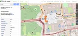 Screenshot www.openstreetmap.org