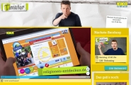 Screenshot www.kika.de/timster/
