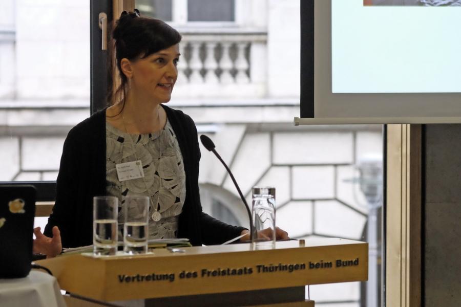 Dr. iingrid Stapf von der FAU Erlangen, FH Potsdam;  (c) Foto: Michael Schnell