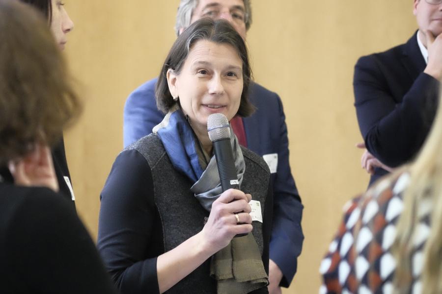 Kirsten Kramer von der Thüringer Landesmedienanstalt; (c) Foto: Michael Schnell