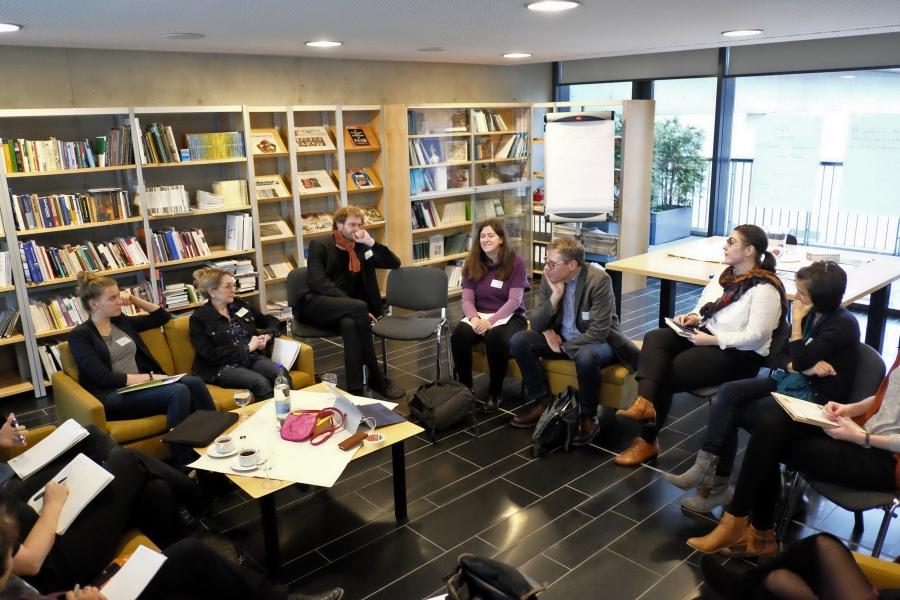 Workshop 1: Kinderseiten als Bildungspartner von Schule & Ganztag; (c) Foto: Michael Schnell