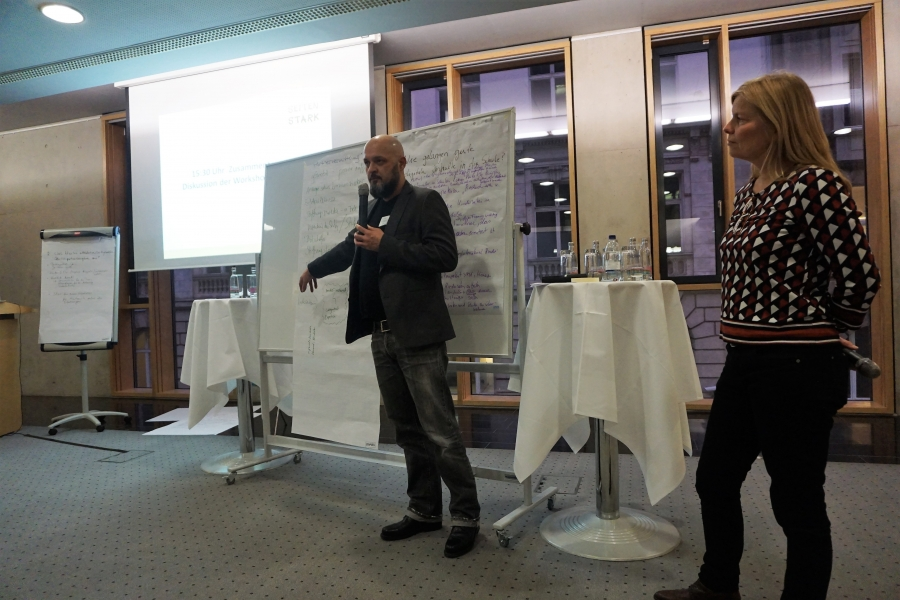 Vorstellung der Ergebnisse aus WS 3 durch Achim Lauber; (c) Birgit Brockerhoff