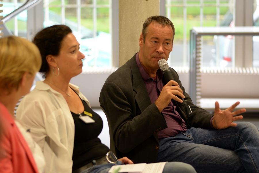 Diskussionsrunde 1: Thomas Krüger, Präsident BPB, Präsident dkhw