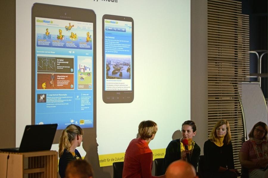 Talk Kinderseiten auf dem Weg in die Mobilität: Katja Lohse, klasse-wasser.de