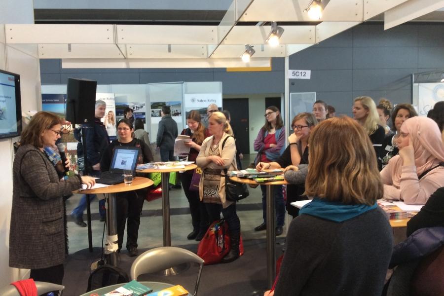 Prof. Dr. Dorothee M. Meister (Universität Paderborn), Vorsitzende der GmK; (c)Foto: Birgit Brockerhoff