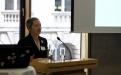 Vortrag von Jutta Croll ; (c) Foto: Michael Schnell