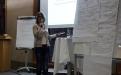 Vorstellung der Ergebnisse aus WS 4 durch Daraj Martens; (c) Birgit Brockerhoff