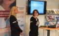 Kristin Nax und Darja Martens von blinde-kuh.de; (c)Foto: Birgit Brockerhoff