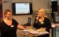 Stefanie Krauel stellt den Seitenstark-Chat vor; (c)Foto: Birgit Brockerhoff