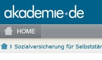 Screenshot https://www.akademie.de