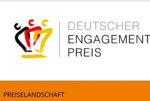 Screenshot www.deutscher-engagementpreis.de